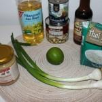 Erdnuss Hähnchen Zutaten
